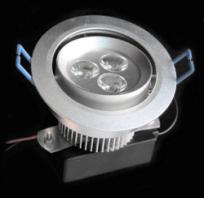 LED Ceiling Light DL-3X1W-WW