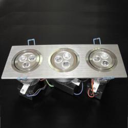 LED осветително тяло за вграждане DL-9X1W-CW1