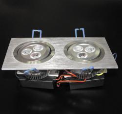LED осветително тяло за вграждане DL-6X1W-CW1