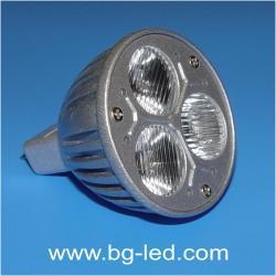 LED спот лампа MR16-3X1W-WW